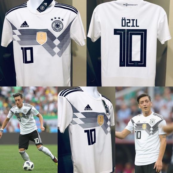 40451c177c5 Ozil  10 Germany 2018 World Cup Soccer Jersey